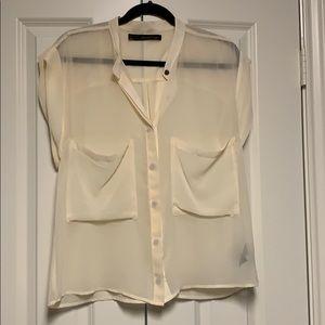 Patterson J. Kincaid silk blouse